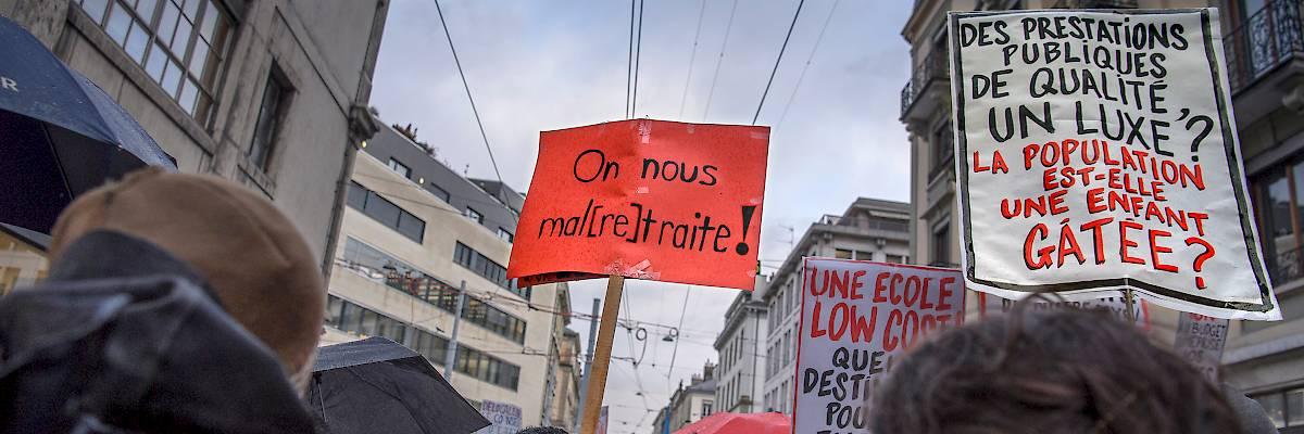 Ville de Lausanne: une pétition pour nos pensions