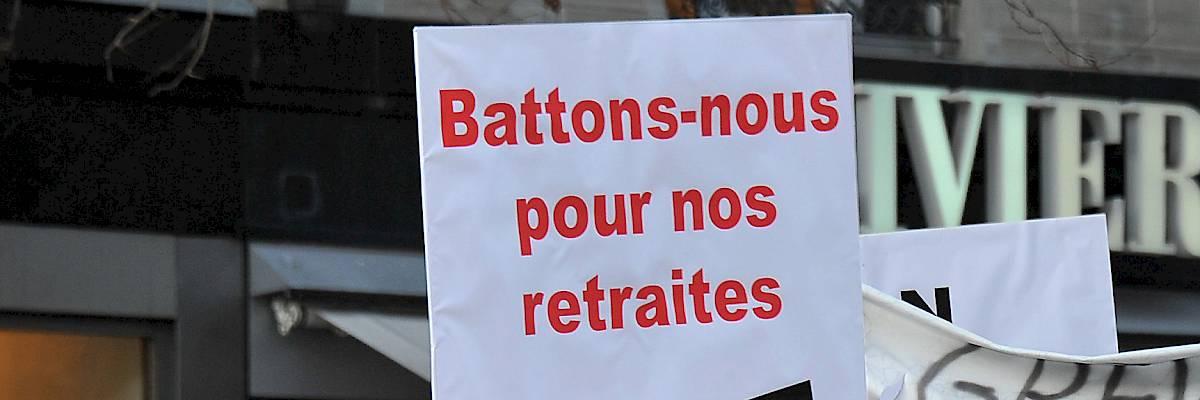 Ville de Lausanne: 2684 signatures pour la retraite anticipée